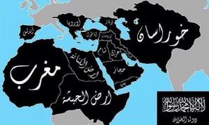خريطة دولة داعش