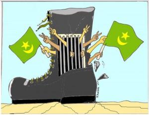 العسكر يسجن الشعب