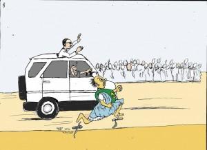 نواب الشعب في استقبال الجنرال واقع مرير تعرفه المناطق التي يزورها الجنرال محمد ولد عبد العزيز